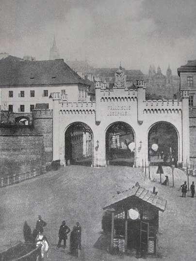 Nová Újezdská brána ze smíchovské strany