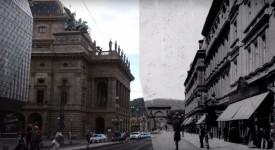 VELKÁ PROMĚNA II. Video, které srovnává Prahu teď a před 120 lety