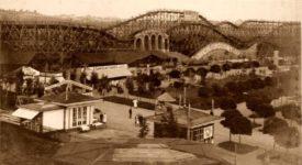 Zapomenutý lunapark v Edenu. Horská dráha měřila 5 kilometrů. Podívejte se…