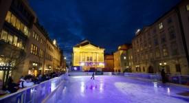 Zabruslete si v centru Prahy. Kluziště na Ovocném trhu je opět otevřeno