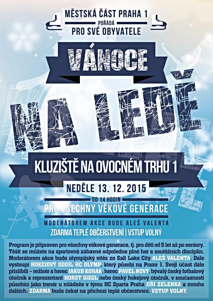Vánoce na ledě - Zdroj: Praha1.cz