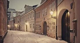 12 nekrásnějších lednových fotek. Praha se předvedla jako sněhová královna