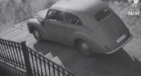 RARITNÍ VIDEO z roku 1947: Škoda Tudor sjela Nuselské schody