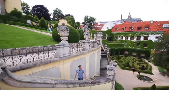 Najděte Vrtbovskou zahradu - Repro: Stream Interantional