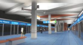 METRO D JINAK A LÉPE. Podporujeme iniciativu za vyhlášení soutěže na podobu stanic metra linky D