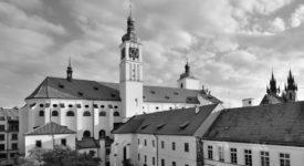 Kostel svatého Jakuba. Místo, kde bylo vystaveno tělo zesnulého Karla IV.