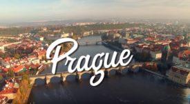 ÚCHVATNÉ ZÁBĚRY Z DRONU. Krása podzimní Prahy z ptačí perspektivy