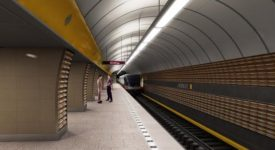 Stanice metra Jinonice bude více než půl roku zavřená. Na nástupiště prosakuje voda