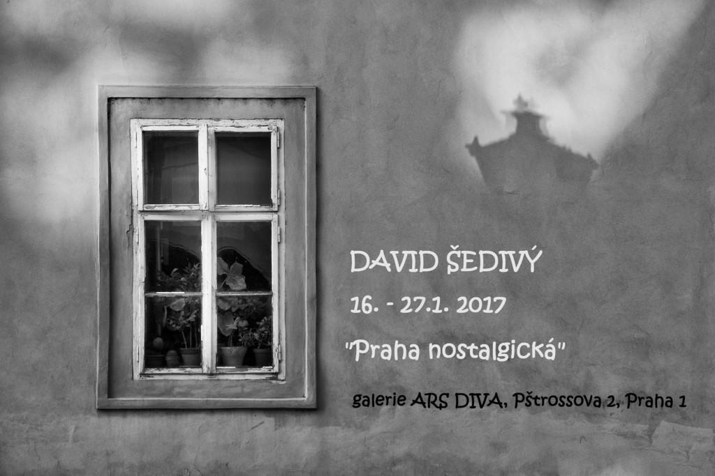 VÝSTAVA David Šedivý - Praha nostalgická