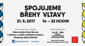 SPOJUJEME BŘEHY VLTAVY: Zapojte se do diskuse o využití veřejného prostoru v Praze
