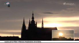 To nejlepší z přenosu Pražského mystéria. Když slunce zapadá do hrobky králů