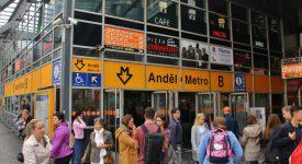 Výstup z metra na Andělu se na 9 měsíců zavírá. Podívejte se, jak to ovlivní dopravu
