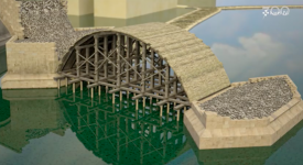 JEDINEČNÁ ANIMACE – Takhle se stavěl Karlův most. Podívejte se na digitální model