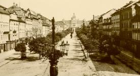 Jak se proměňovalo Václavské náměstí od roku 1606 po dnešek. Podívejte se