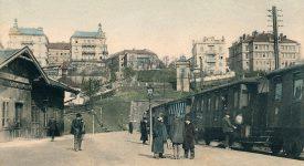 Zapomenuté nádraží. Víte, kde byla železniční stanice Praha – Královské Vinohrady?