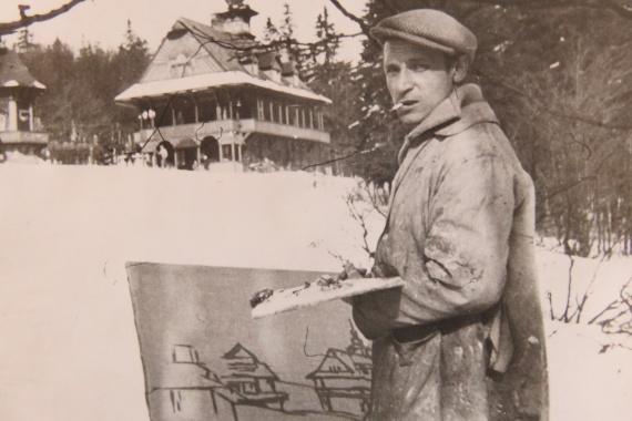 Ahoj, dědo - dvougenerační výstava Pavla Raszky a jeho vnučky Moniky Kočenové