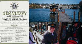 Den Vltavy – sezona na Vltavě bude zahájena plavbami ZDARMA