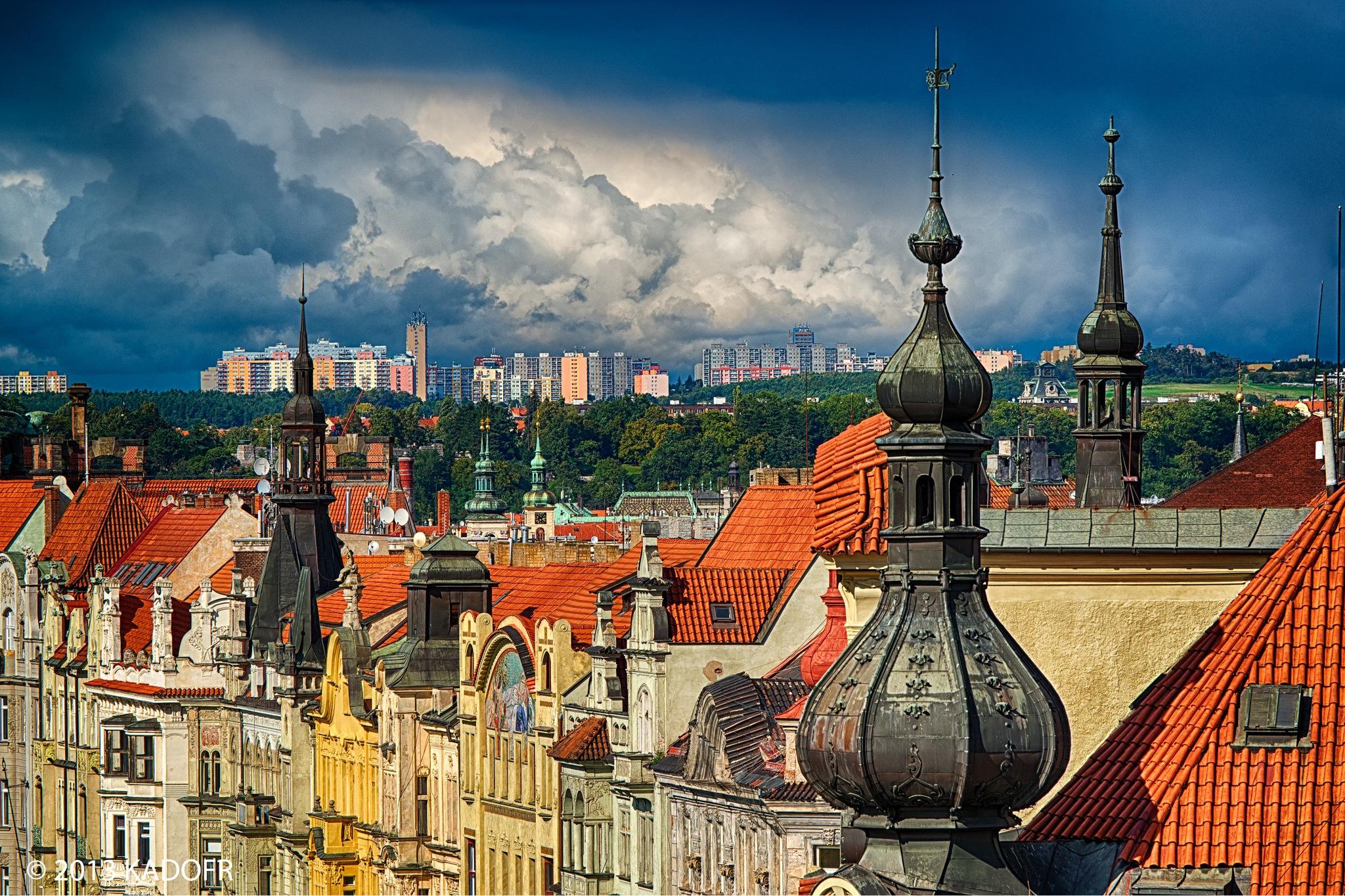 Střechy pražské - Foto: Karel Dobeš