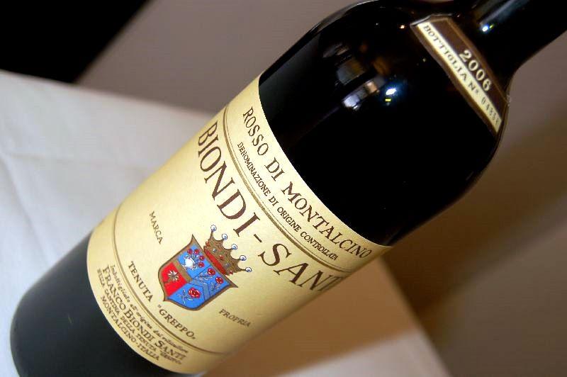 Degustace toskánských vín