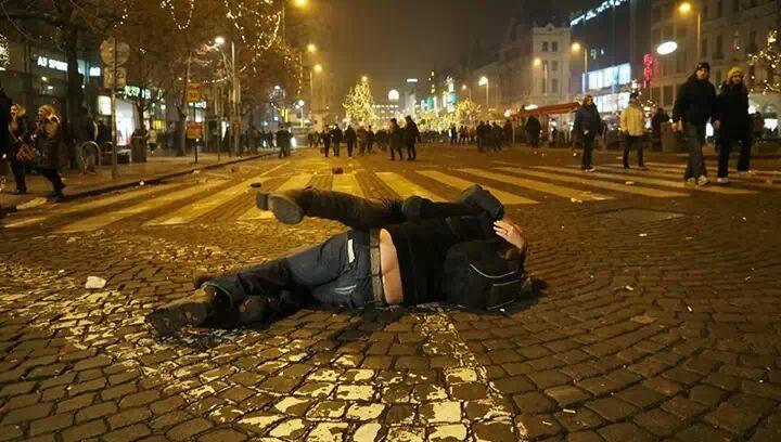 Milenci na náměstí Foto:Eugen Kukla