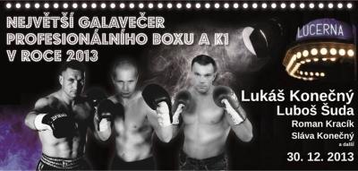 Největší galavečer profesionálního boxu K1