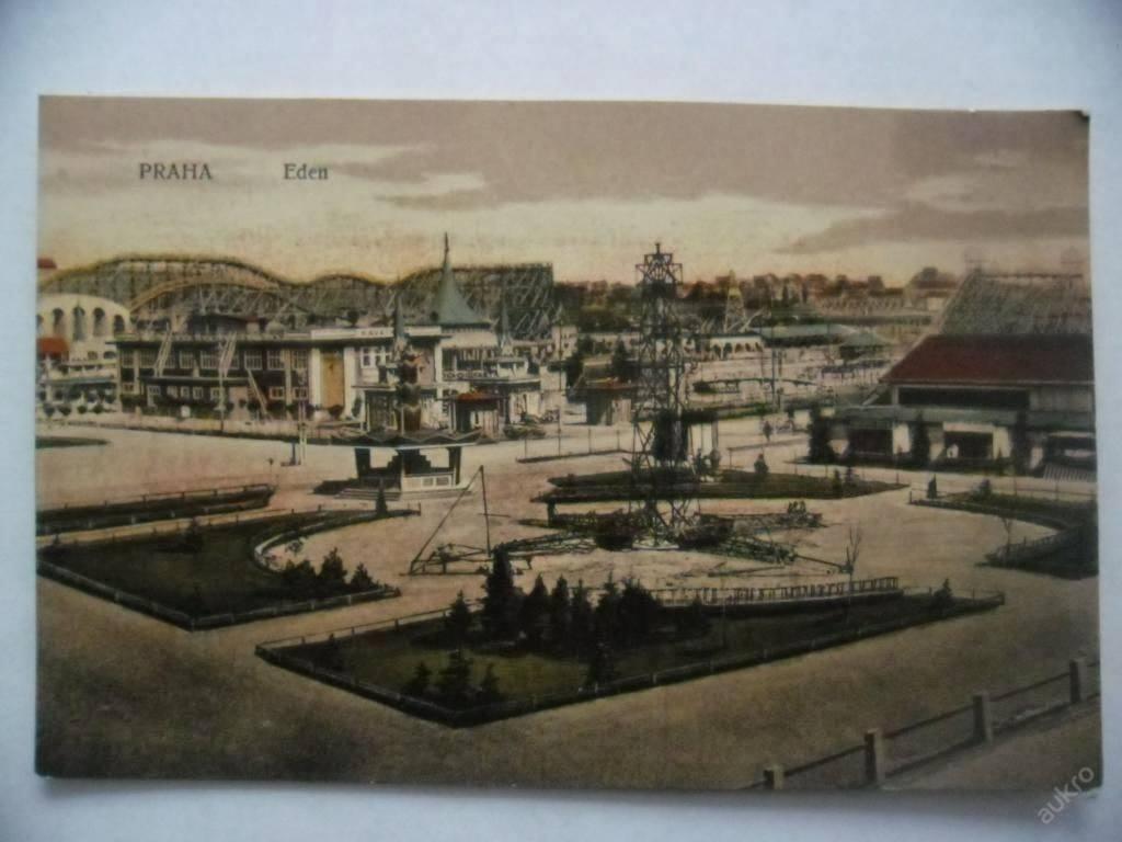 Eden byl v těsné blízkosti dělnické nouzové kolonie domků, dřevěných bud i vagónů pod Bohdalcem, zvané Rafandaod, od níž byl zábavní park oddělen jen železniční tratí a seřazovacím nádražím, daleko sem nebylo ani z ještě rozsáhlejší kolonie na záběhlické straně Bohdalce, zvané Slatiny. Na západní straně sousedila s Edenem vršovická vozatajská kasárna a co by kamenem dohodil, byla na Míčínkách další vršovická kasárna, sídlo 28.pěšího pluku.