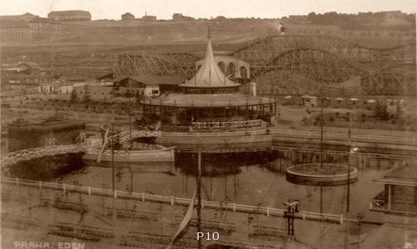 Na laguně se hrávalo divadlo. Dráha směla soutěžila s vídeňskou horskou v Prátru.