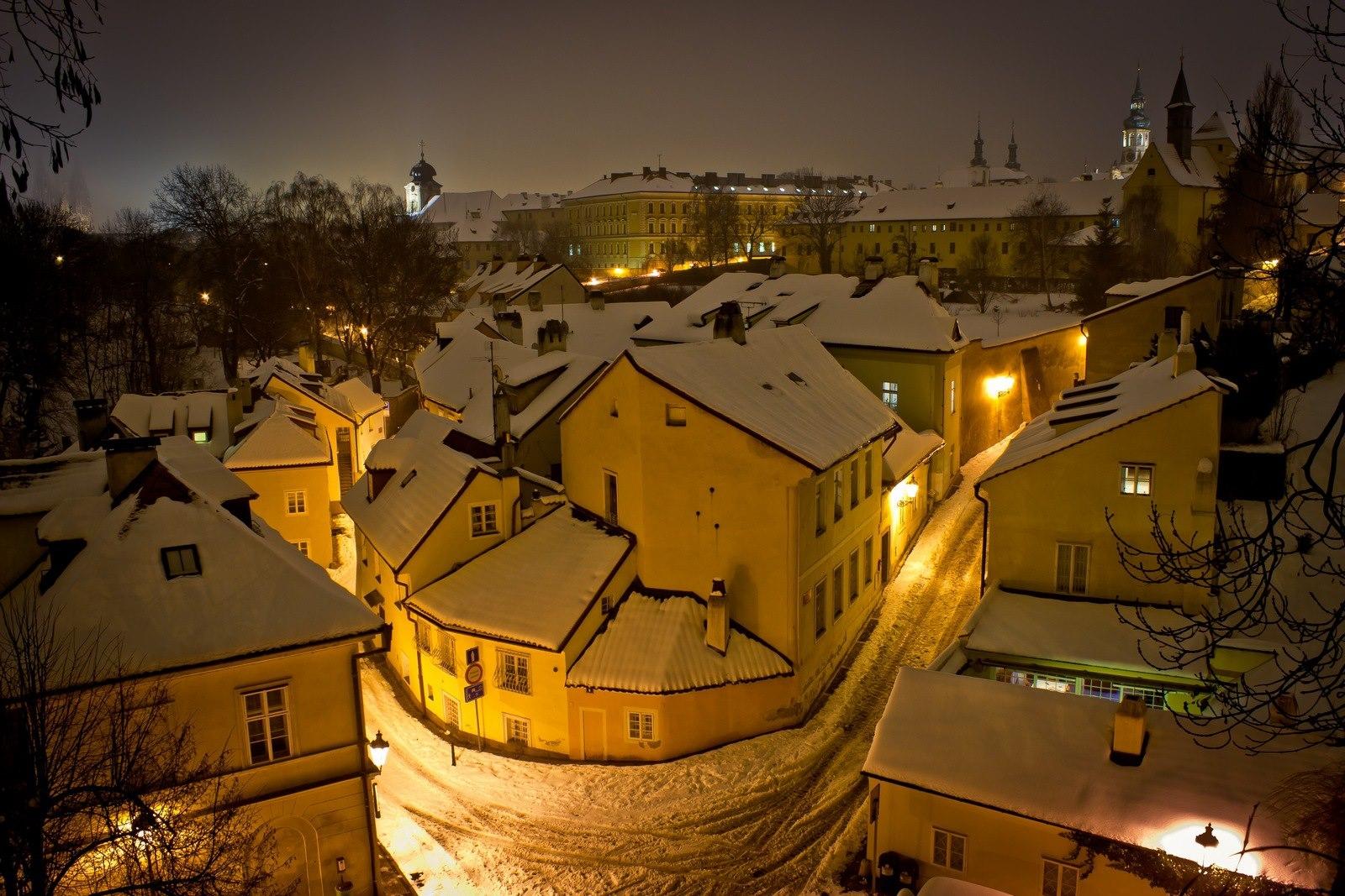 Zasněžený Nový svět - Foto: Marek Nahodil