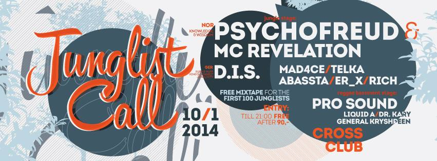 Junglist Call With Psychofreud & D.I.S.