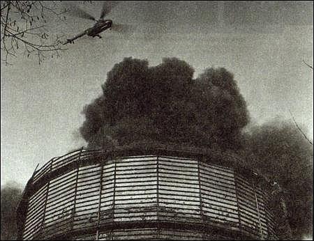 Požár plynojemu