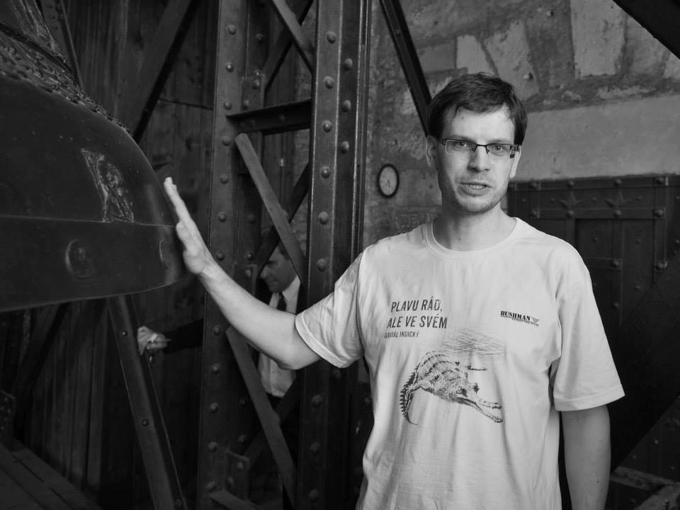 Martin Pauer - to je ten dobrý muž, který Miluju Prahu do zvonice pozval. Tímto mu ještě jednou děkujeme - Foto: Eugen Kukla