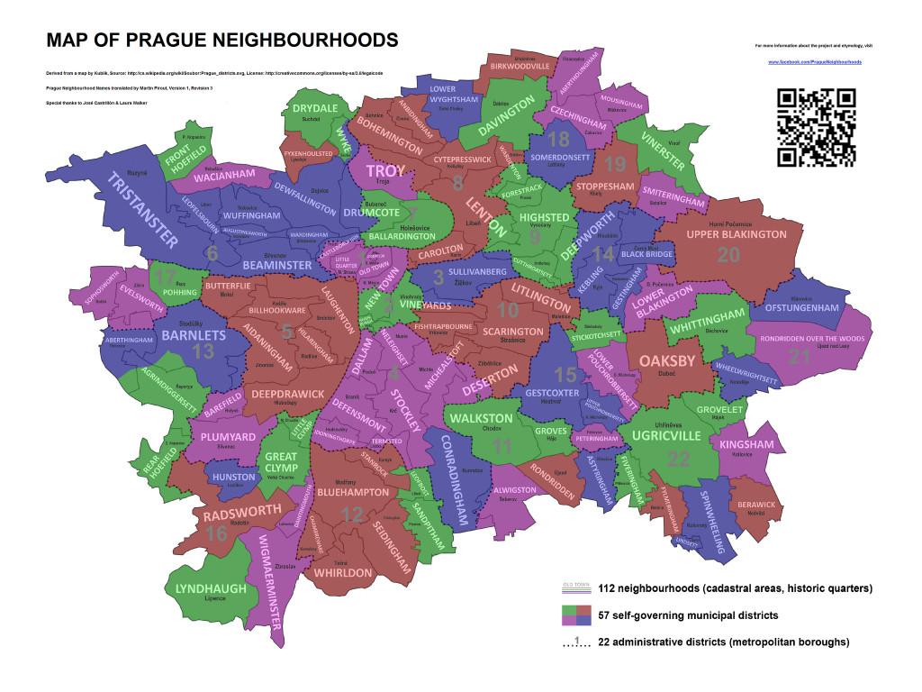 prazske ctvrti
