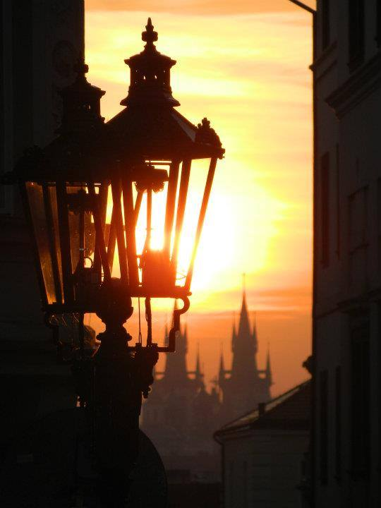 Skrz lampu - Foto: Nikola Vaňková