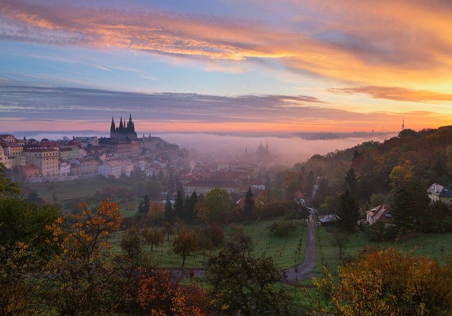 Podzimní ráno - Foto Michal Vitásek