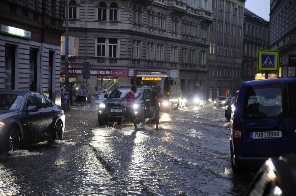 Husitská ulice na Žižkově - Foto: Ivan Pithart