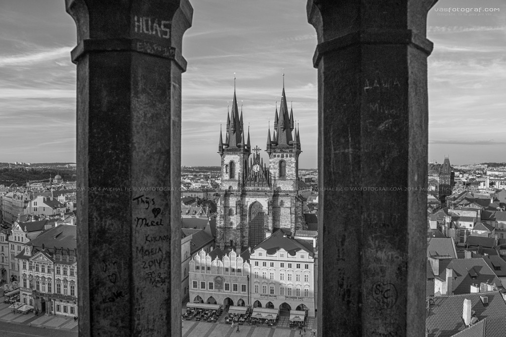 Týn z věže - Foto: Michal Fic