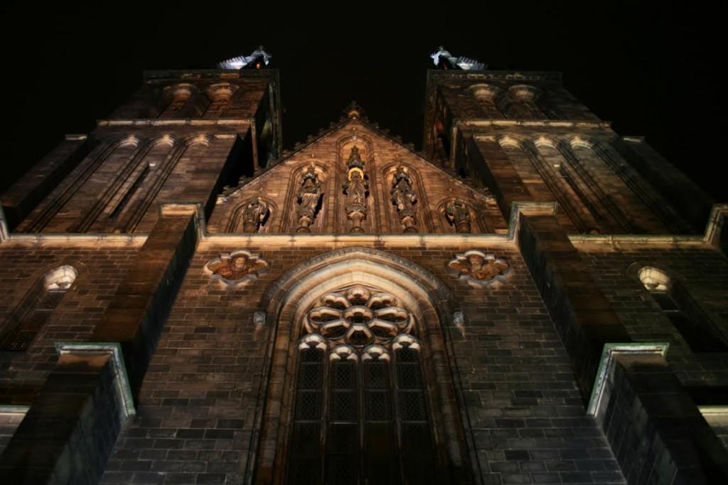 Průčelí baziliky svatého Petra a Pavla - Foto: Robert Svoboda
