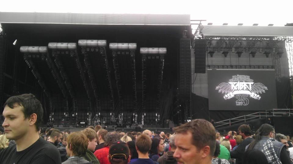 Před koncertem - Foto: Petr Skyba