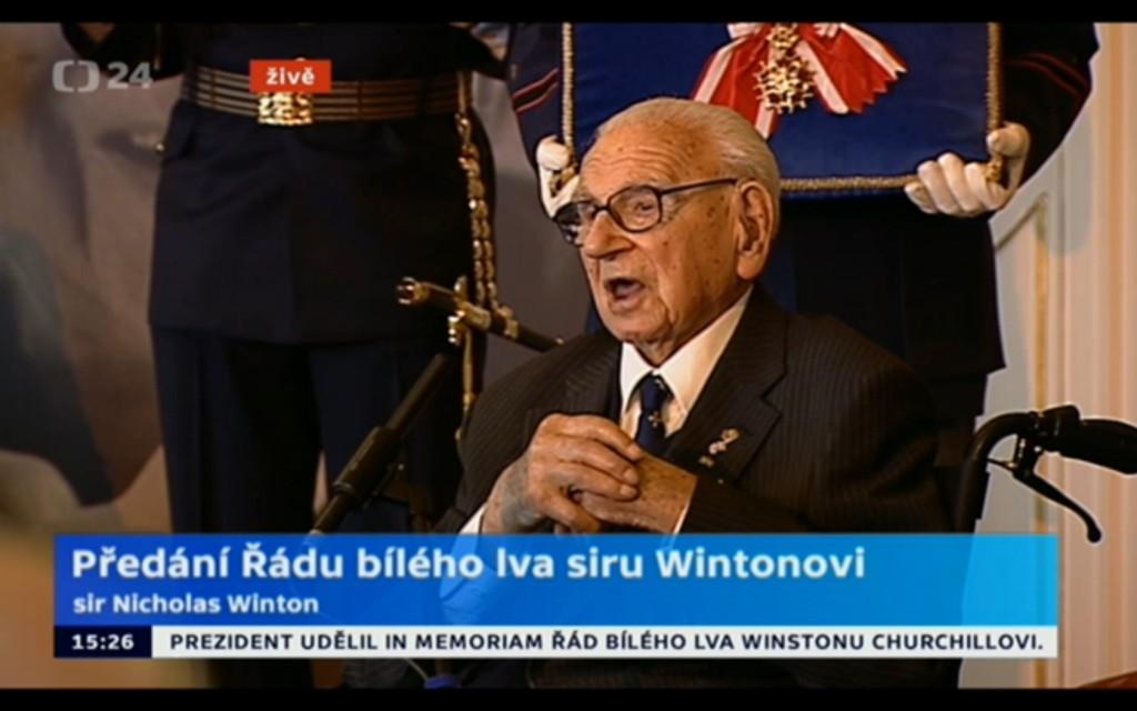 Foto: repro z vysílání ČT24