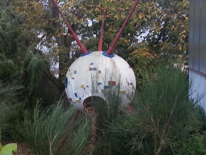 Sputnik na zahradě pana Břínka - Foto: David Černý