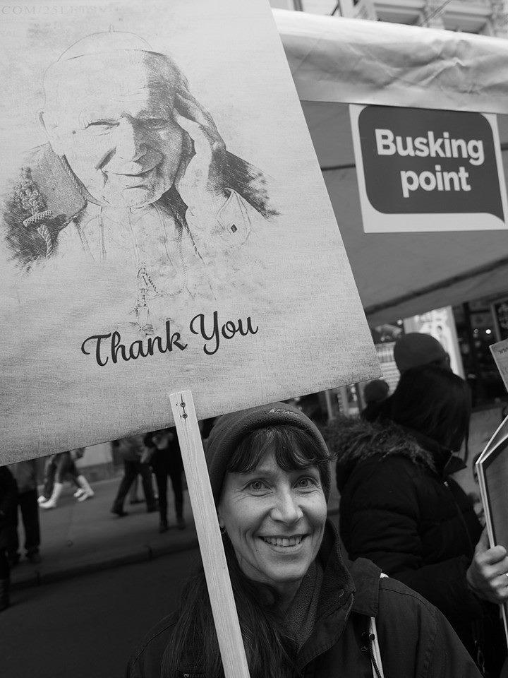 Busking Point 17.XI.2014 - Foto: Eugen Kukla