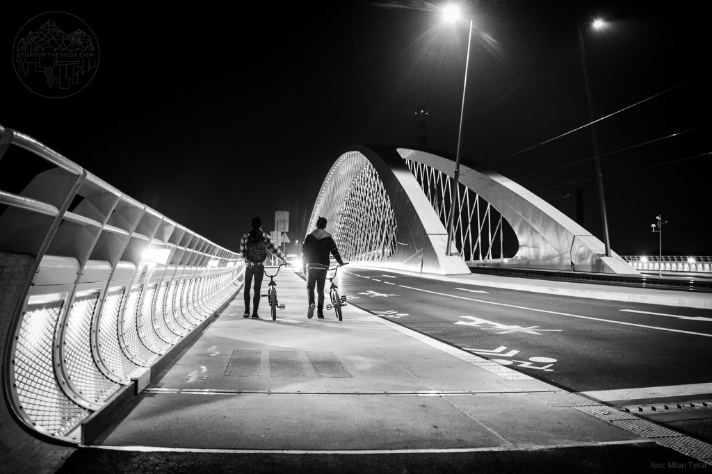 Na mostě - Foto: Milan tykal