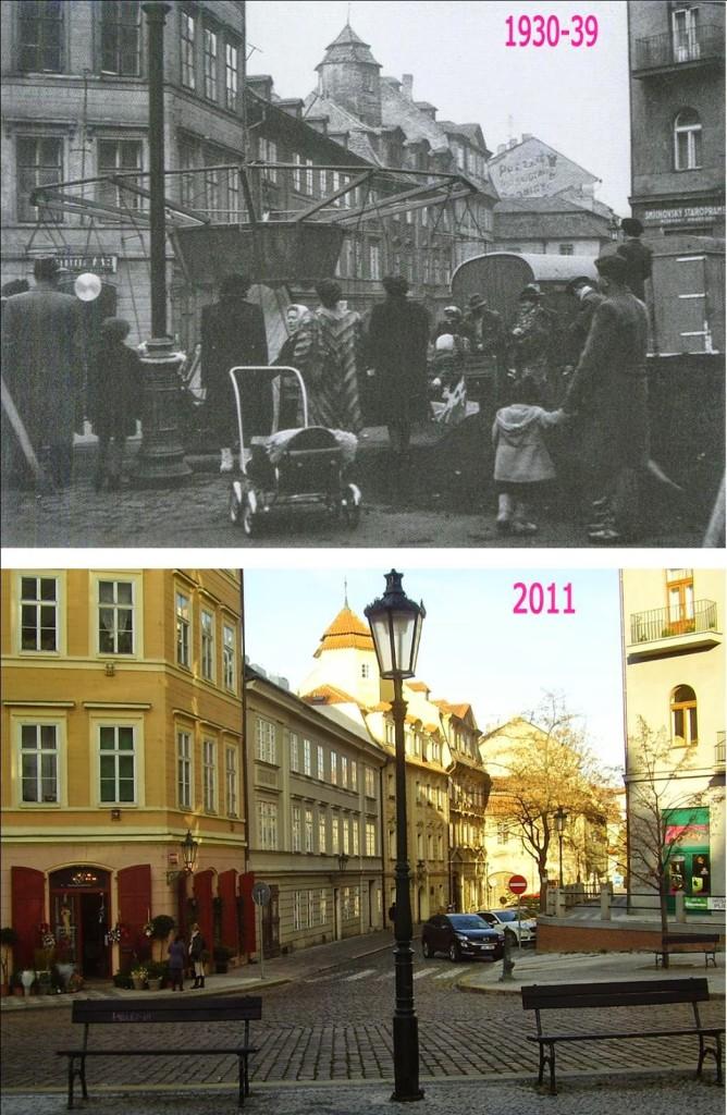 Kozí plácek - srovnávaci fotografii vytvořil Václav Víšek - http://srovnavacifotky.blogspot.cz/2014/08/seznam-podle-obci.html