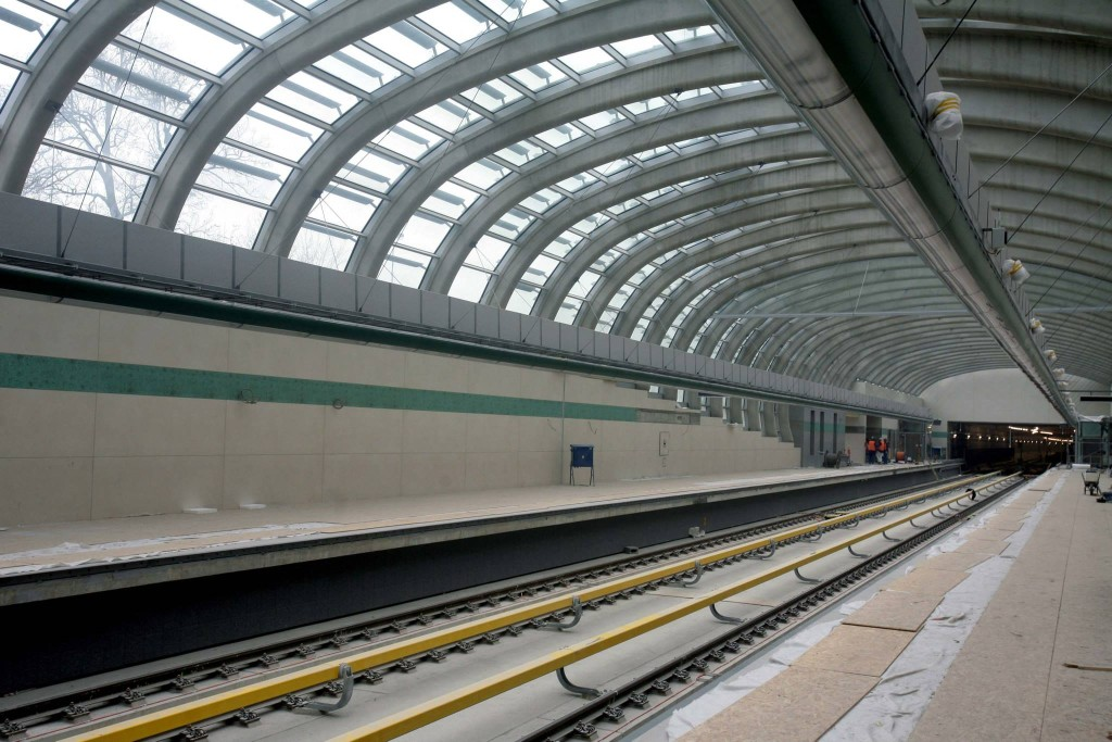 Stanice metra Nemocnice Motol - Foto: Metrostav