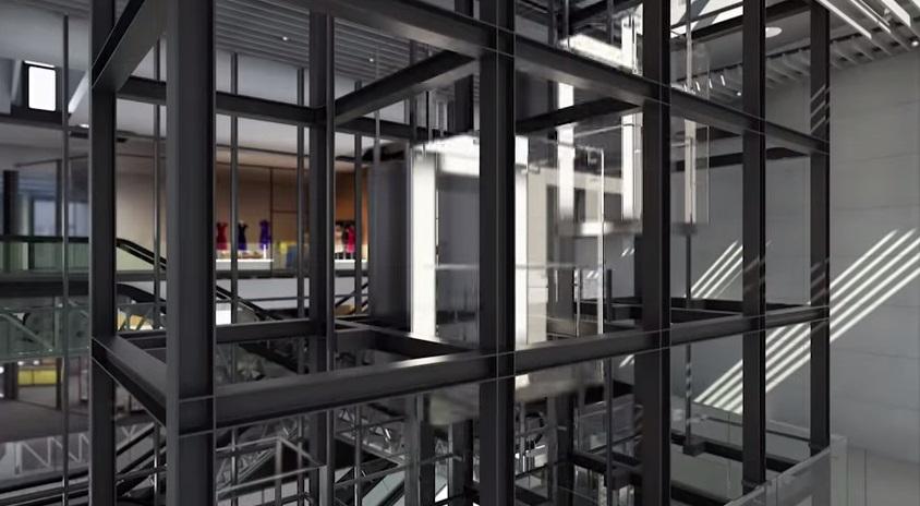 Výtahy v Quadriu - autor Quadrio