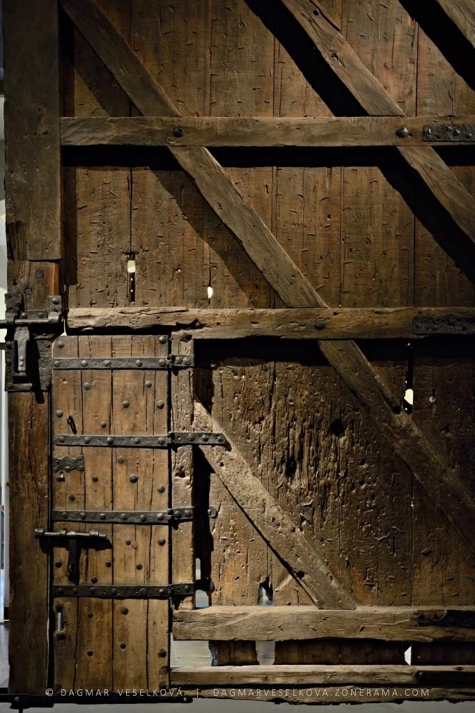 Vrata z Karlštejna - Foto: Dagmar Veselková