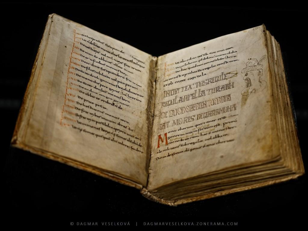 Codex Sangallensis - Foto: Dagmar Veselková