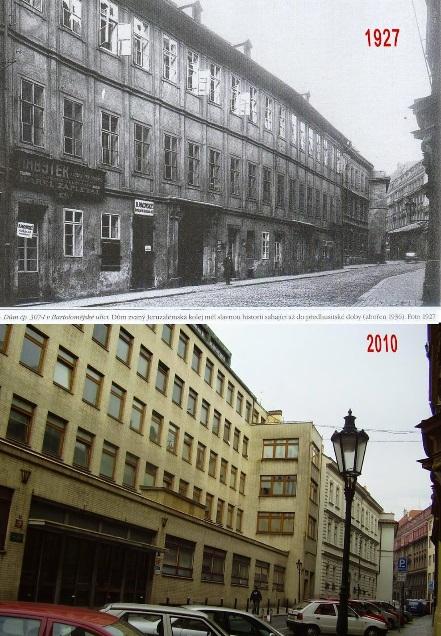 Bartolomějská ulice - Koláž: Václav Víšek