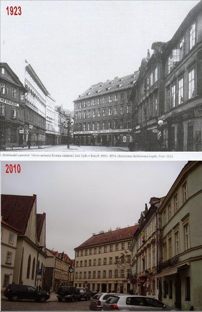 Betlémské náměstí - Koláž: Václav Víšek