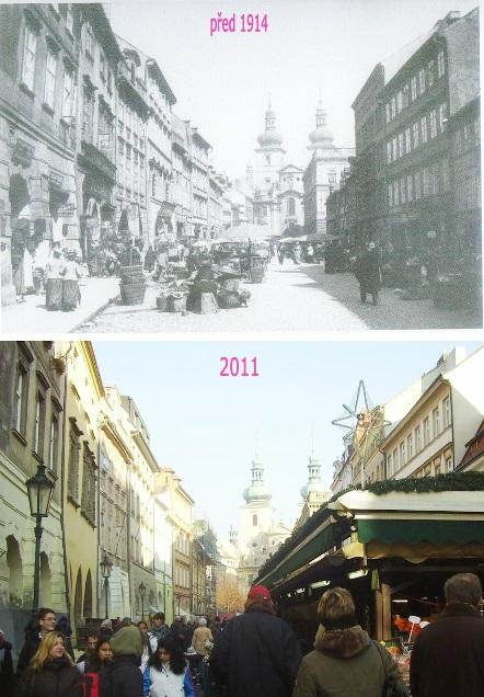 Havelský trh - Koláž: Václav Víšek